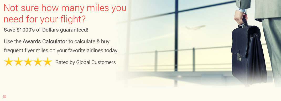Buy frequent flyer miles