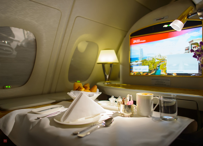 The Helpful Emirates A380 Business Class Review