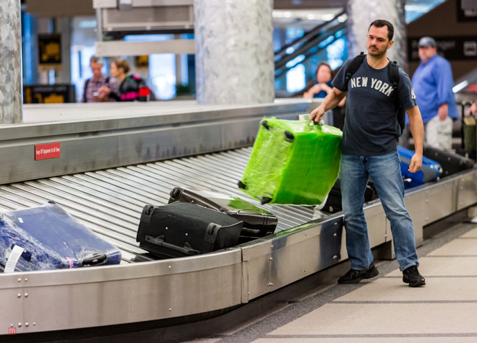 For First Class Passengers An Allowance Of Three Bags Is Given Prestige Are To Check In Two